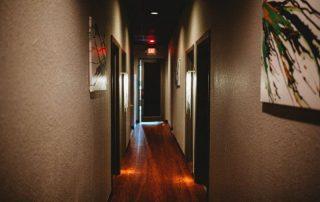 DayDreams Day & Medspa Original Art Hallway